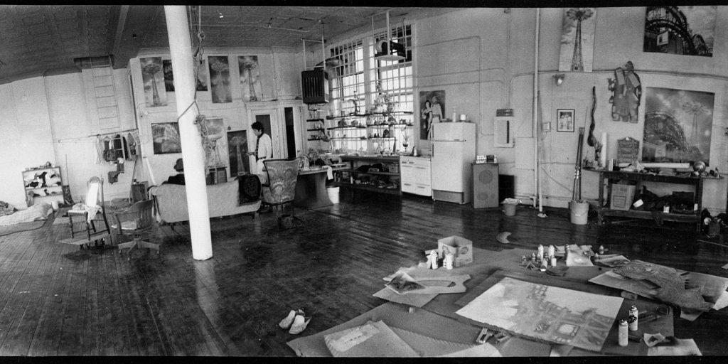 charles' loft space 1974